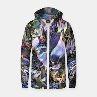 Thumbnail image of Bouquet Cotton zip up hoodie, Live Heroes