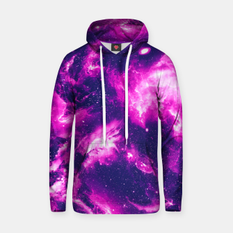Thumbnail image of Ultra Violet Galaxy Cotton hoodie, Live Heroes