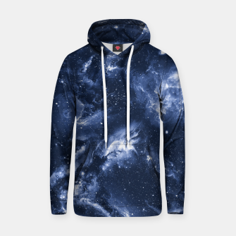 Thumbnail image of Dark Blue Galaxy Cotton hoodie, Live Heroes