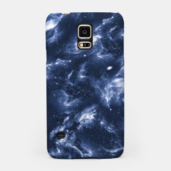 Dark Blue Galaxy Samsung Case obraz miniatury