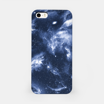 Dark Blue Galaxy iPhone Case obraz miniatury