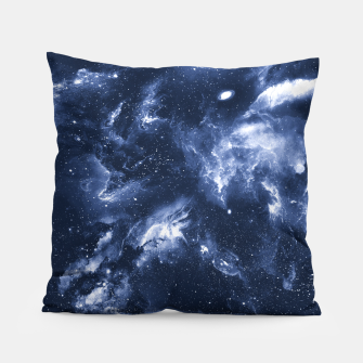 Dark Blue Galaxy Pillow obraz miniatury