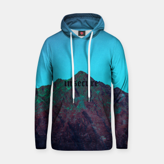 Thumbnail image of insecure Cotton hoodie, Live Heroes