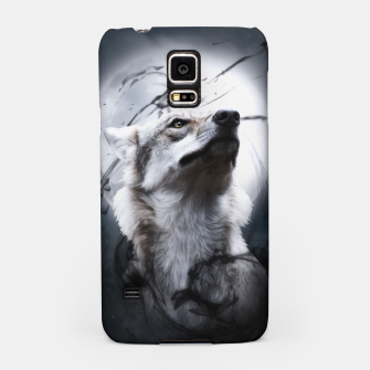 Thumbnail image of The Wolf and the Moon Handyhülle für Samsung, Live Heroes