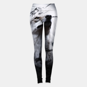 Miniatur The Wolf and the Moon Leggings, Live Heroes