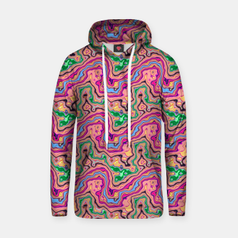 Thumbnail image of Pink marble Cotton hoodie, Live Heroes