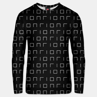 Miniature de image de Minimalistic Geometric Pattern Cotton sweater, Live Heroes