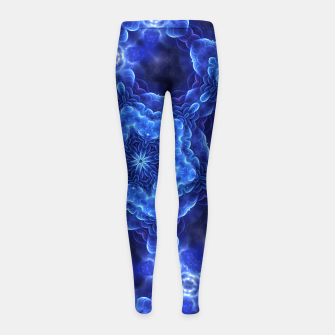 Thumbnail image of SOA Star Blue Girl's leggings, Live Heroes