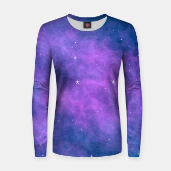 Thumbnail image of  Starry Night Skies - 06 Woman cotton sweater, Live Heroes