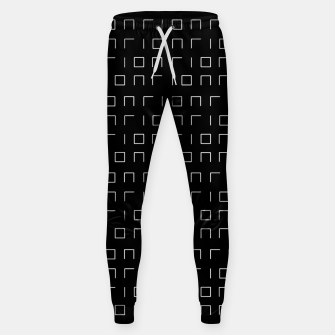 Miniature de image de Minimalistic Geometric Pattern Cotton sweatpants, Live Heroes