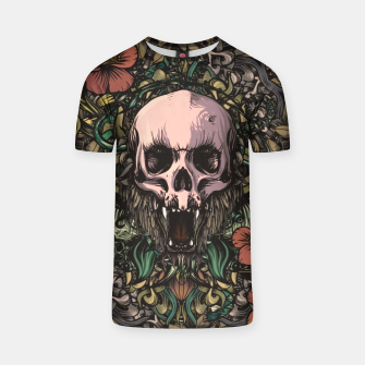 Thumbnail image of Skull in the jungle T-shirt, Live Heroes