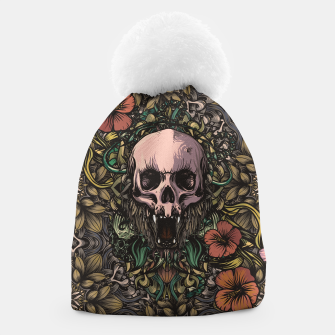 Thumbnail image of Skull in the jungle Beanie, Live Heroes
