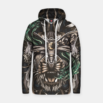 Thumbnail image of Tigger and moth Cotton hoodie, Live Heroes