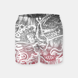 Thumbnail image of Animals Color Swim Shorts, Live Heroes