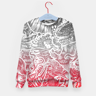 Thumbnail image of Animals Color Kid's sweater, Live Heroes