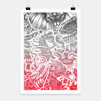 Thumbnail image of Animals Color Poster, Live Heroes