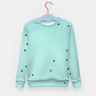Thumbnail image of Flying birds 2 Kid's sweater, Live Heroes
