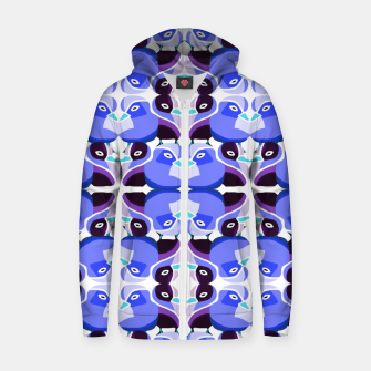 Thumbnail image of Pato Azul Cotton zip up hoodie, Live Heroes