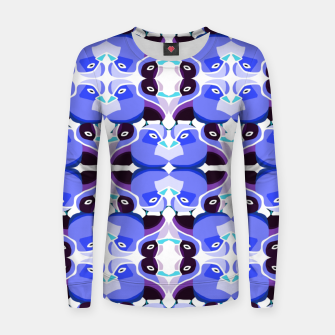 Thumbnail image of Pato Azul Woman cotton sweater, Live Heroes