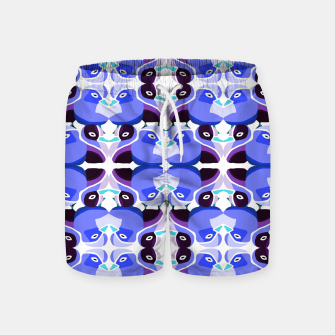 Thumbnail image of Pato Azul Swim Shorts, Live Heroes