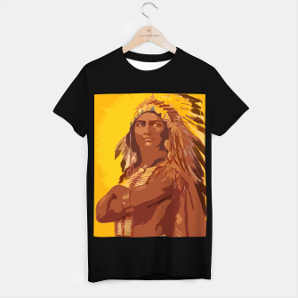 Thumbnail image of  Native American indian T-shirt regular, Live Heroes