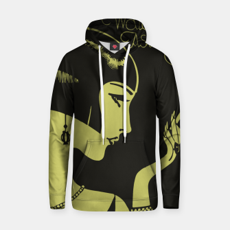 Thumbnail image of Art Deco smoking Cotton hoodie, Live Heroes