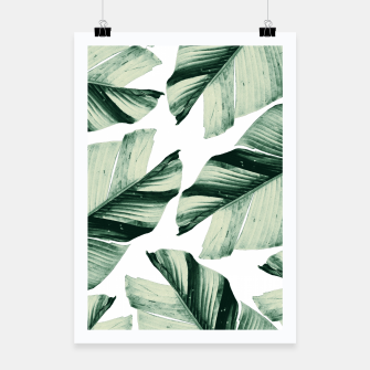 Thumbnail image of Tropical Banana Leaves Vibes #1 #foliage #decor #art Plakat, Live Heroes