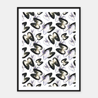 Thumbnail image of Unio Crassus Pattern Framed poster, Live Heroes