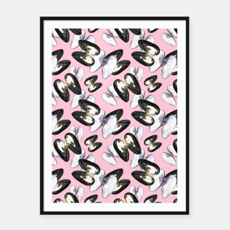 Thumbnail image of Unio Crassus Pattern in Pink Framed poster, Live Heroes