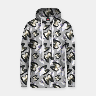 Thumbnail image of Unio Crassus Pattern in Grey Cotton hoodie, Live Heroes