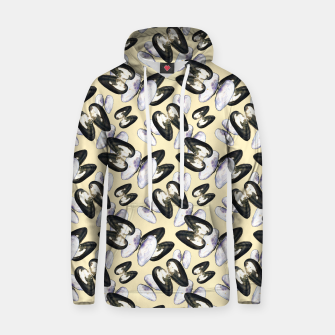 Thumbnail image of Unio Crassus Pattern in Beige Cotton hoodie, Live Heroes
