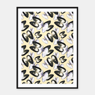 Thumbnail image of Unio Crassus Pattern in Beige Framed poster, Live Heroes