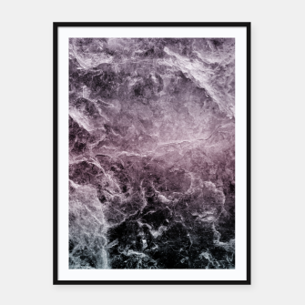 Thumbnail image of Enigmatic Dark Night Marble #1 #decor #art Plakat mit rahmen, Live Heroes