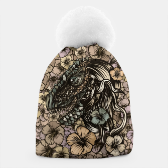 Thumbnail image of T-Rex Beanie, Live Heroes
