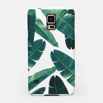 Thumbnail image of Banana Leaves - Cali Vibes #2 #tropical #decor #art Handyhülle für Samsung, Live Heroes