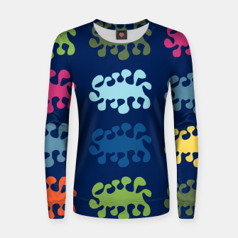 Thumbnail image of Amoeba Alliance Woman cotton sweater, Live Heroes