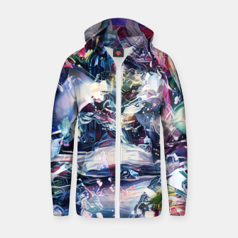 Thumbnail image of Alchemists Cotton zip up hoodie, Live Heroes