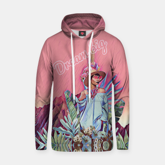 Imagen en miniatura de Dream big Cotton hoodie, Live Heroes