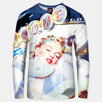 Thumbnail image of Marilyn in Las Vegas Cotton sweater, Live Heroes