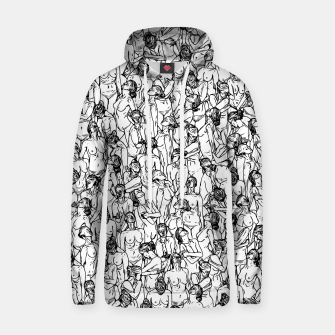 Thumbnail image of Unveiled Cotton hoodie, Live Heroes