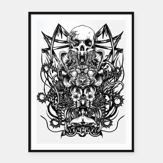 Thumbnail image of Totem Framed poster, Live Heroes