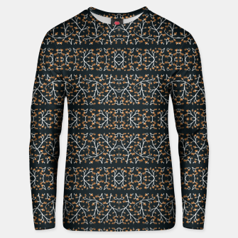 Thumbnail image of Floral Lace Stripes Print Pattern Cotton sweater, Live Heroes