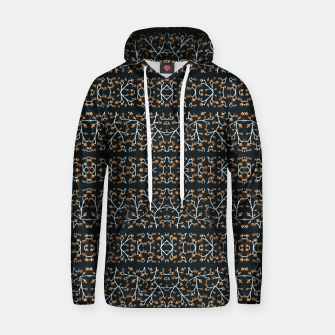 Thumbnail image of Floral Lace Stripes Print Pattern Cotton hoodie, Live Heroes