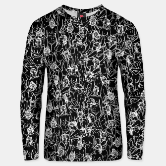Thumbnail image of Unveiled II Cotton sweater, Live Heroes