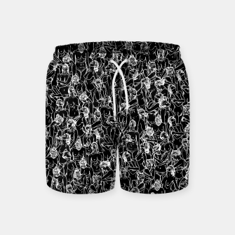 Thumbnail image of Unveiled II Swim Shorts, Live Heroes