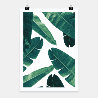 Thumbnail image of Banana Leaves - Cali Vibes #2 #tropical #decor #art Plakat, Live Heroes