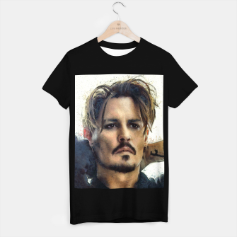 Thumbnail image of Johnny Depp T-shirt regular, Live Heroes