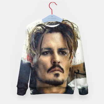 Thumbnail image of Johnny Depp Kid's sweater, Live Heroes