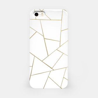 Thumbnail image of Gold White Geometric Glam #1 #geo #decor #art iPhone-Hülle, Live Heroes