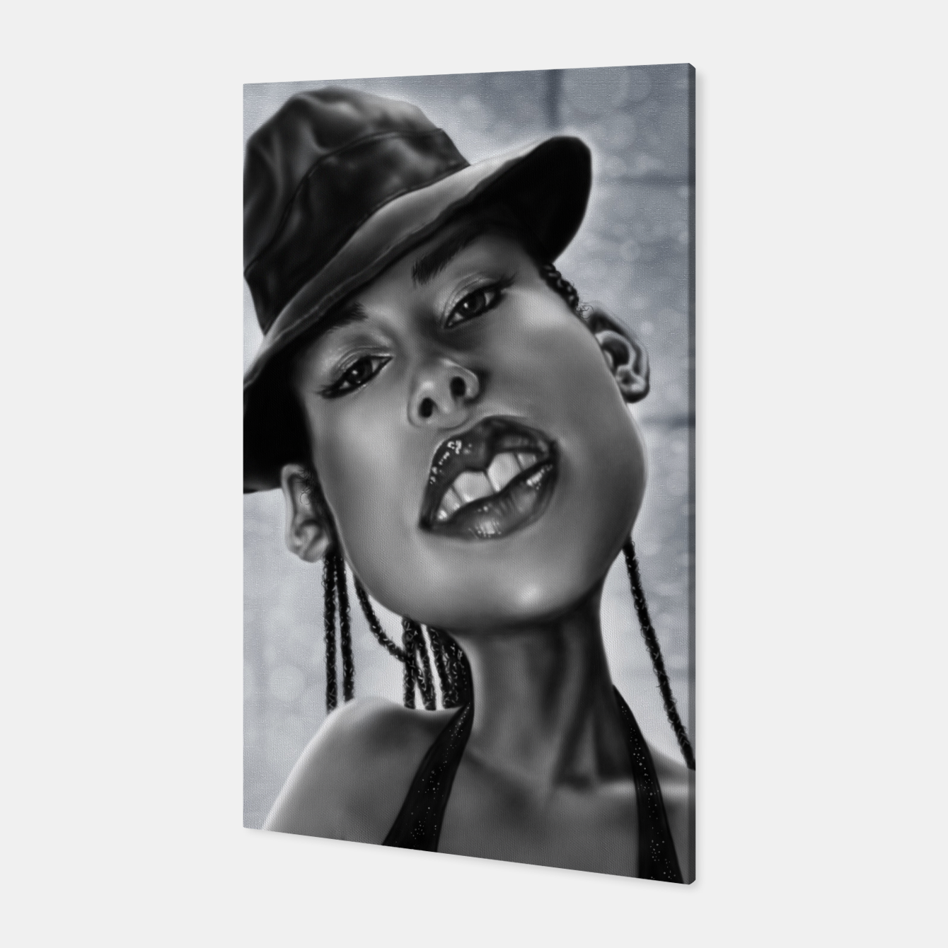 Image of Alicia Keys Canvas - Live Heroes
